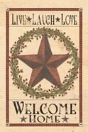 Welcome Home Barn Star