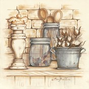 Jars and Wooden Spoons