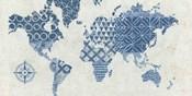 Indigo Gild Map Maki - No Border