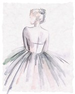 Watercolor Ballerina I