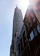 Empire State Building From Street