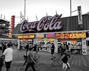 Coca Cola Sign - Boardwalk, Wildwood NJ