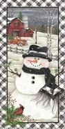 Rusty Truck Snowman