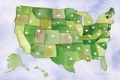 USA Capital Map