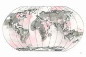 World Map Blush v2