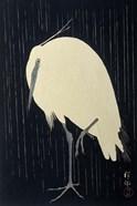 Egret in the Rain, 1925-1936