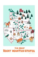 The Great Rocky Mountain States