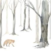 Winter Forest Fox