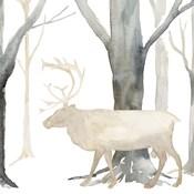 Winter Forest Elk