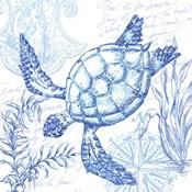 Coastal Sketchbook Turtle