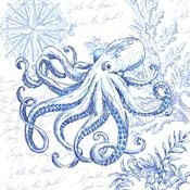 Coastal Sketchbook Octopus
