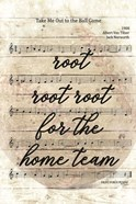 Vintage Baseball Sheet Music