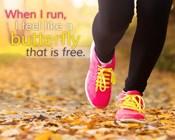 When I Run I Feel Like a Butterfly