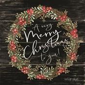 A Very Merry Christmas Wreath