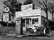 Abandoned Gas Station, New Mexico