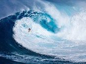 Surfing the Big Wave, Tasmania