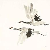 Zen Cranes I Warm