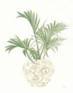 Palm Chinoiserie II Sage