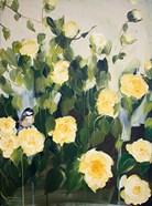 Bird on Roses