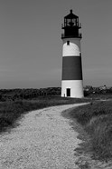 Black and Lighthouse