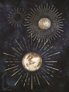 Gold Celestial Rays IV