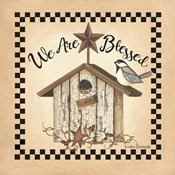 We Are Blessed Birdhouse