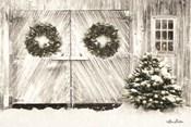 Christmas Barn Doors