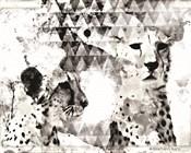 Modern Black & White Cheetahs