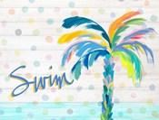 Swim Near the Palm Tree
