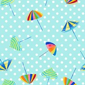 Beach Umbrellas on Dots