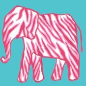 Safari Pattern Elephant II