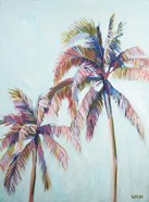 Colorful Palm Tree I