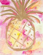 Pink Gold Pineapple