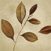 Antiqued Leaves I