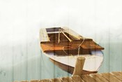 Boat with Textured Wood Look II