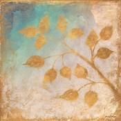 Gold Leaves on Blues II