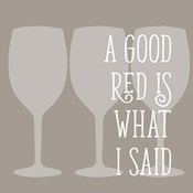 A Good Red