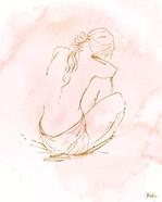 Nude on Pink I