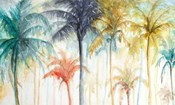 Watercolor Summer Palms