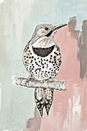 Beige Woodpecker I