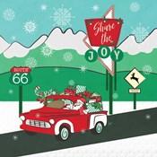 Retro Santa Driving I