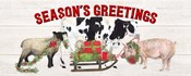 Christmas on the Farm - Seasons Greetings