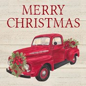 Home for the Holidays - Red Truck