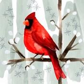 Christmas Hinterland I Cardinal