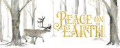 Christmas Forest panel II-Peace on Earth