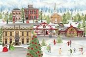 Christmas Village landscape