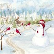 Snowman Christmas I