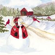 Snowman Christmas III