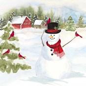 Snowman Christmas IV