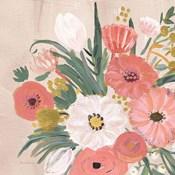 Vintage Floral IV Flipped Modern